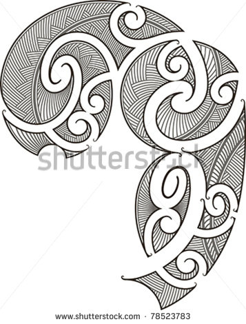 Circle Tattoo Design On Both Shoulders
