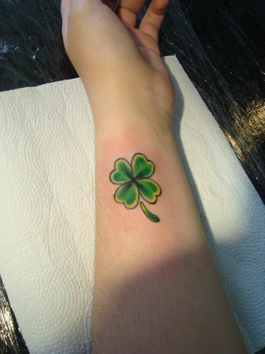 Clover tattoos tattoo collections for 3d nipple tattoo