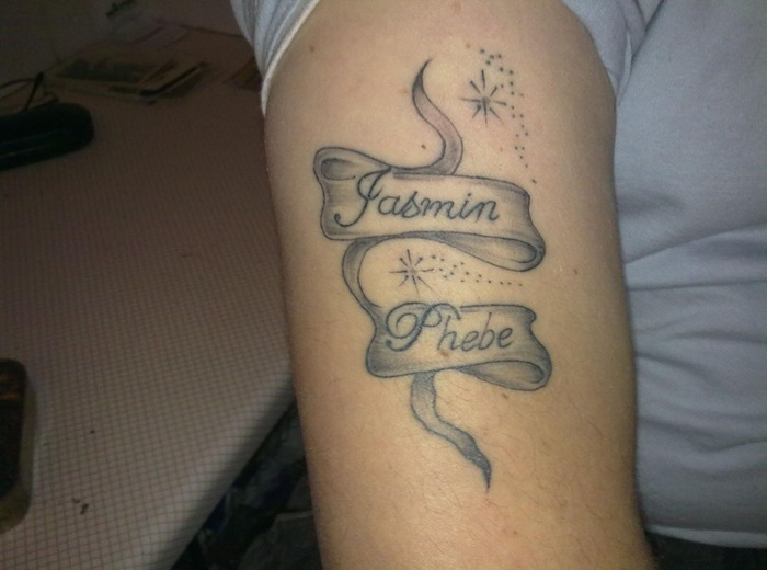 Cool Arm Tattoo For Women