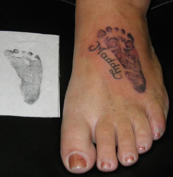 Cool Toe And Feet Tattoos