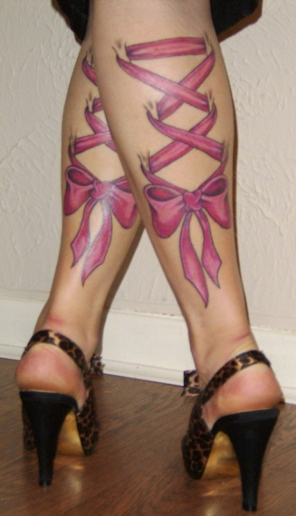 Corset Butterfly Tattoo