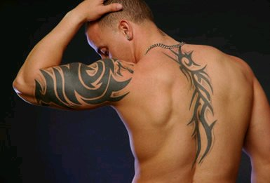 Country Flag Tattoo For Shoulder