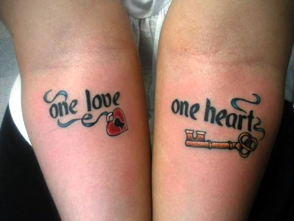 Couple Tattoo For Men