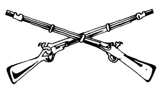 Cowboy Weapons Tattoo Design