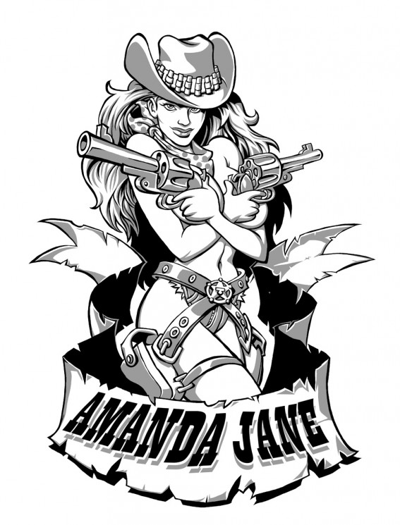 Cowgirl Up Tattoo Picture