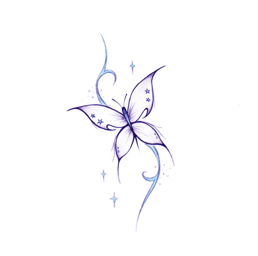 Cross Butterfly Tattoo Design In 2017 Real Photo Pictures
