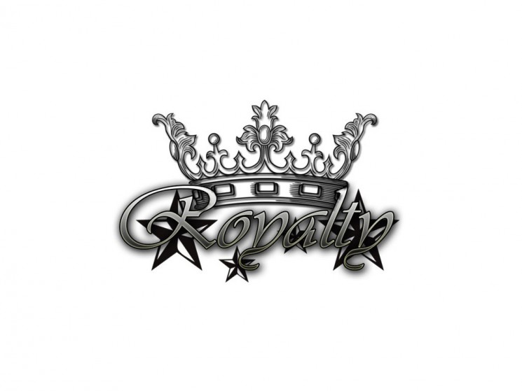 Crown With Wings Tattoo Design