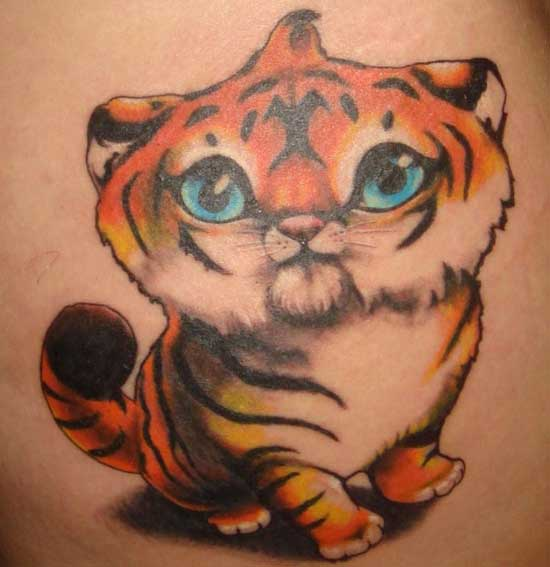 Cute Baby Animal TAttoo