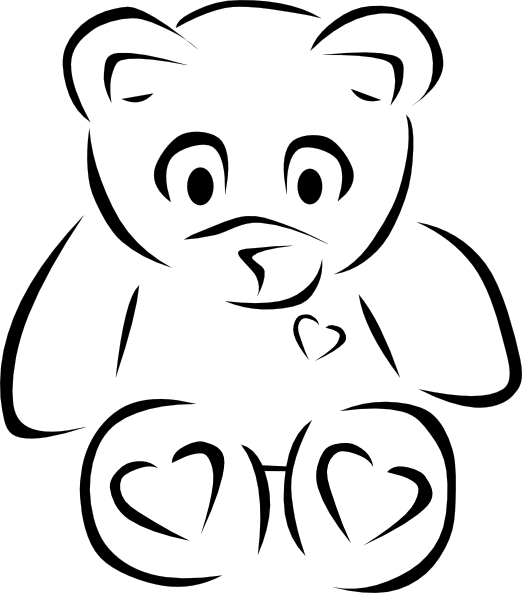 Cute Teddy Bears Tattoo Designs
