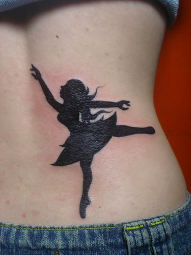 Dancing Girl  Tattoo