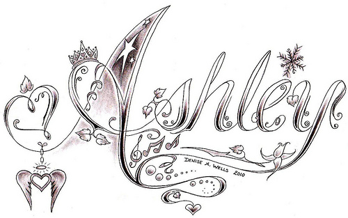 Denise A. Wells Love Tattoo Design