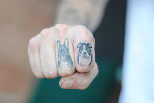 Dog Tattoo Picture