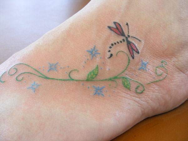 Dragonfly Tattoo Picture