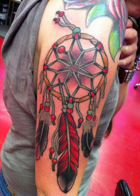 Dream Catcher Tattoo For Your Arm