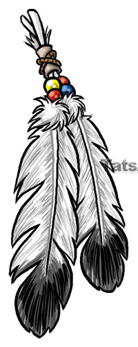 Eagle Feather Tattoo Drawing