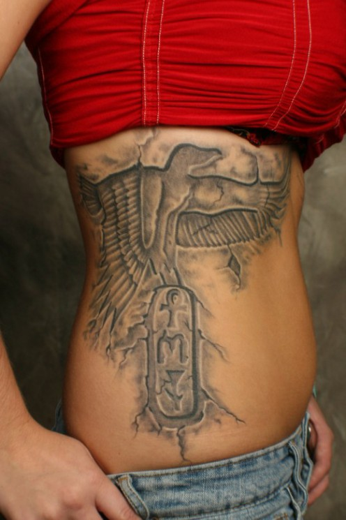 Egyptian Tattoo Design On Forearm
