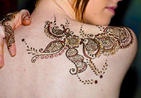 Egyptian Tattoo Designs On Back Of Shoulders