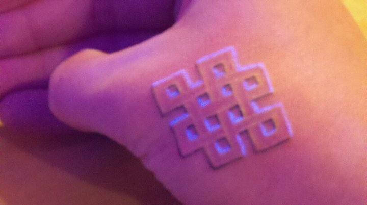 Endless Knot Tattoo On Hand
