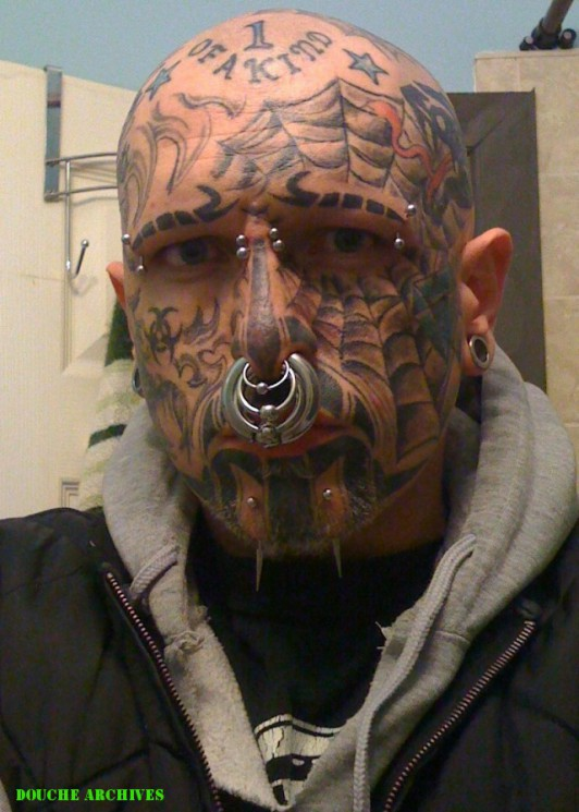 Extreme Tattoo On Face