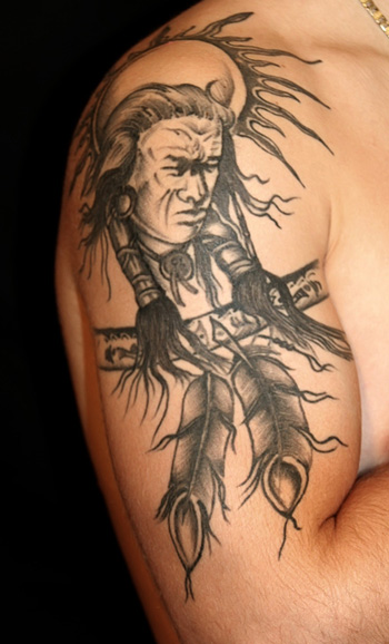 Fabulous American Tattoos On Arm For Guys