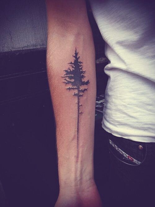 Fabulous Tree Tattoo On Forearm