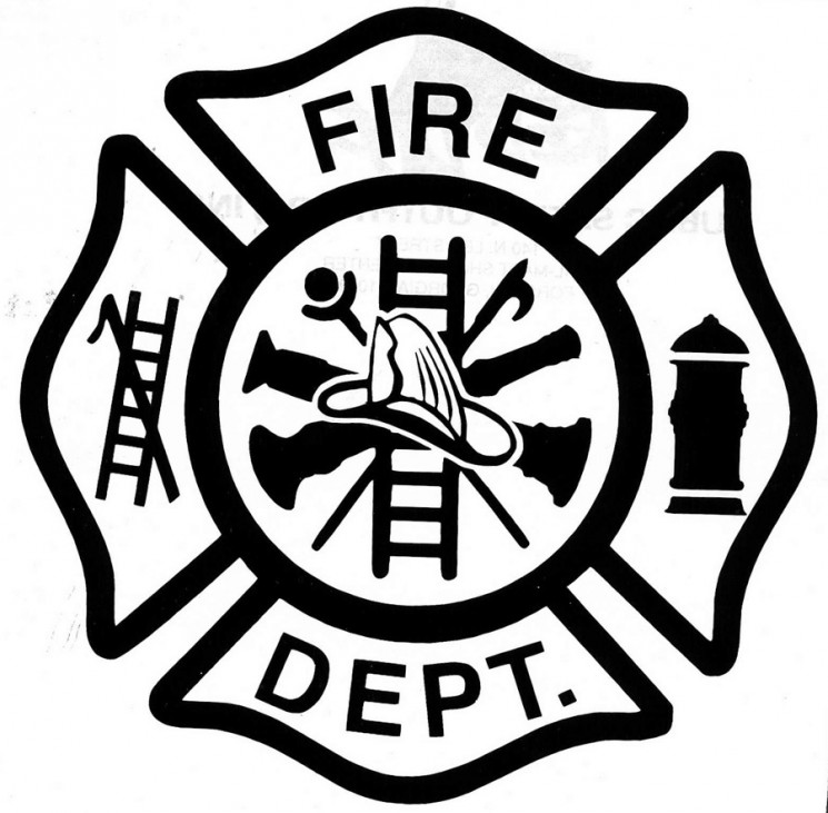 Fire Rescue Badge Tattoo