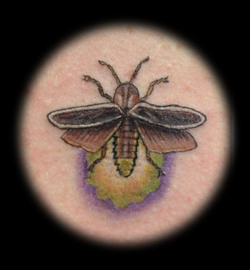 Firefly Insect Tattoo Image