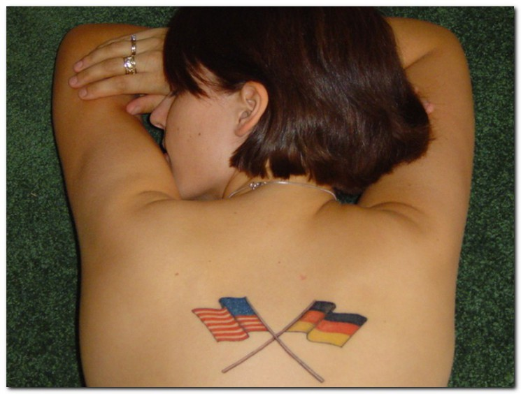 Flags Tattoo Picture