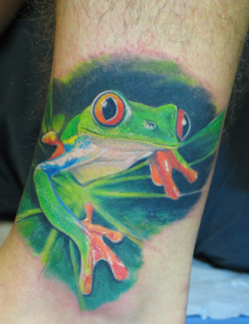 Frog Tattoo Gallery