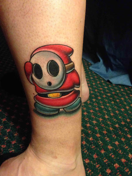 Gaming Tattoos Images For Men