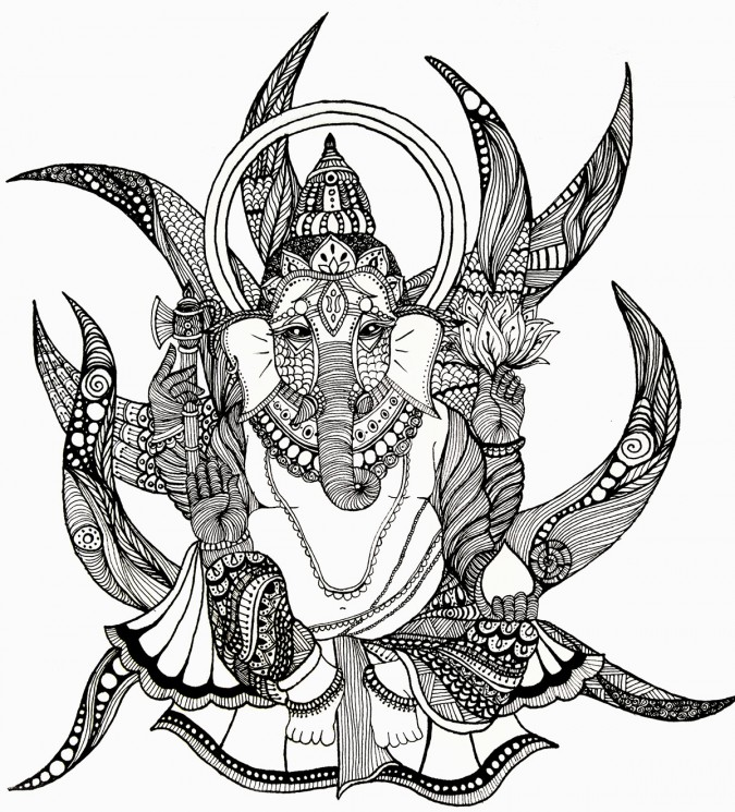 Ganesha Tattoo Picture On Forearm