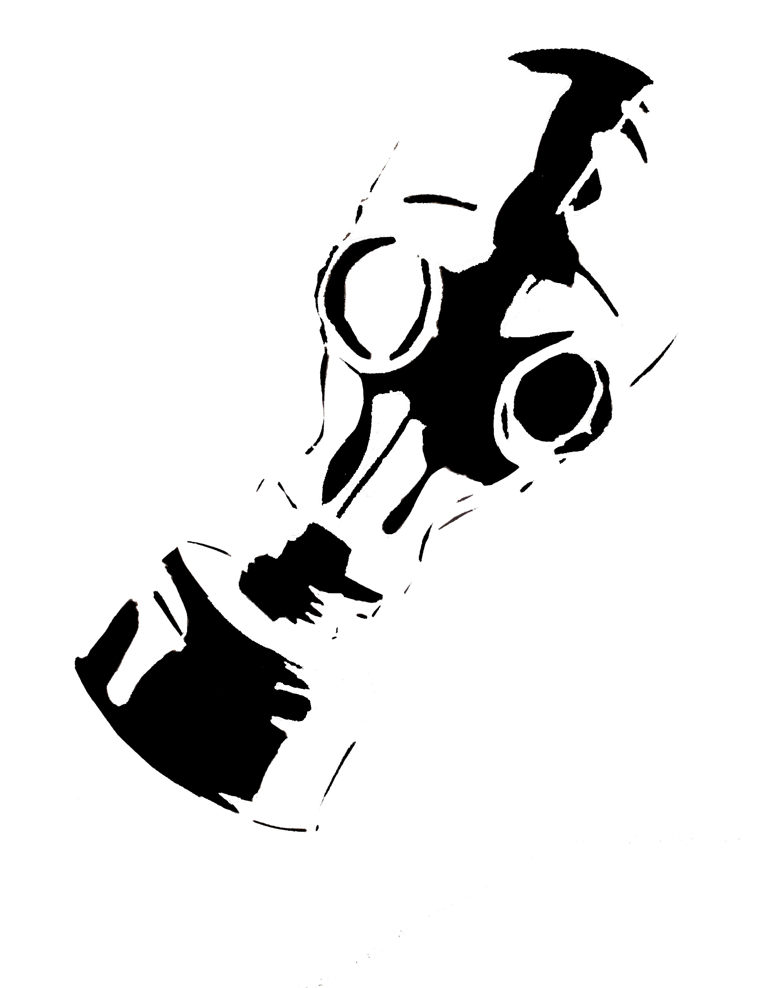 gas mask tattoo stencil real photo pictures images and sketches