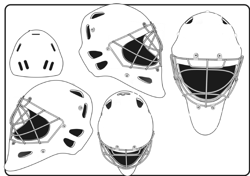 bauer goalie mask template - goalie mask tattoo image in 2017 real photo pictures