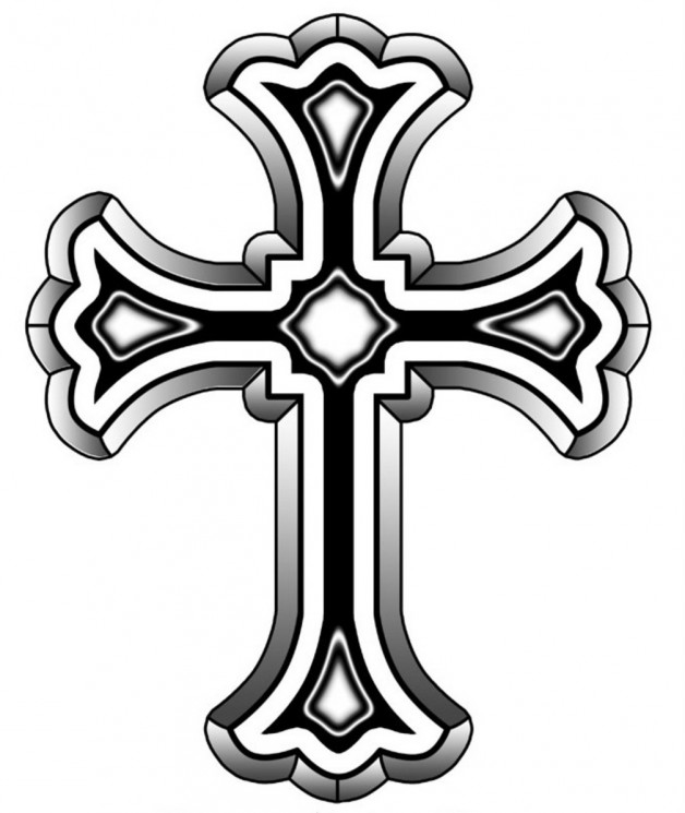 Gothic Cross Tattoo Picture