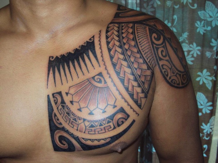Great Polynesian And Tribal Tattoos For Men