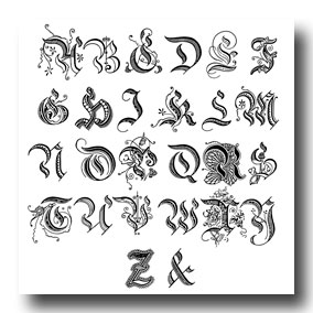 Greek Letters Tattoo Design