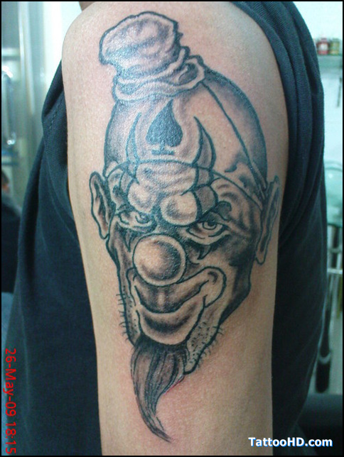 grey ink half sleeve evil alien tattoo in 2017 real photo pictures images and sketches. Black Bedroom Furniture Sets. Home Design Ideas