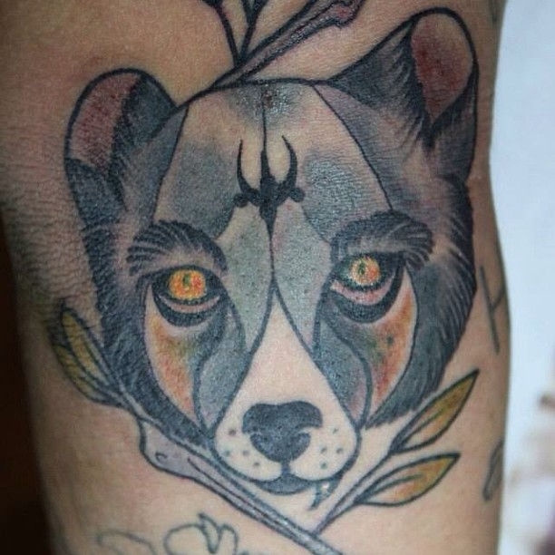 Grey Koala Bear Tattoo Design In 2017 Real Photo Pictures Images