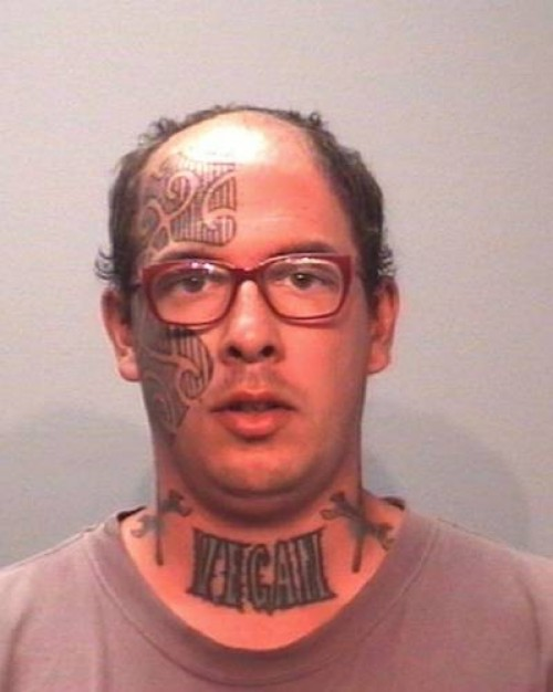 Guy With Dagger Tattoo Design On Arm