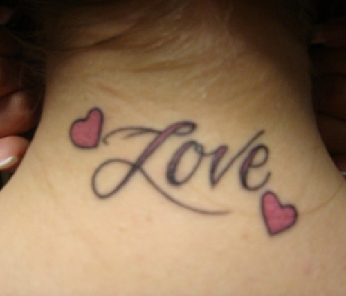 Half Heart Tattoo Design For Couples