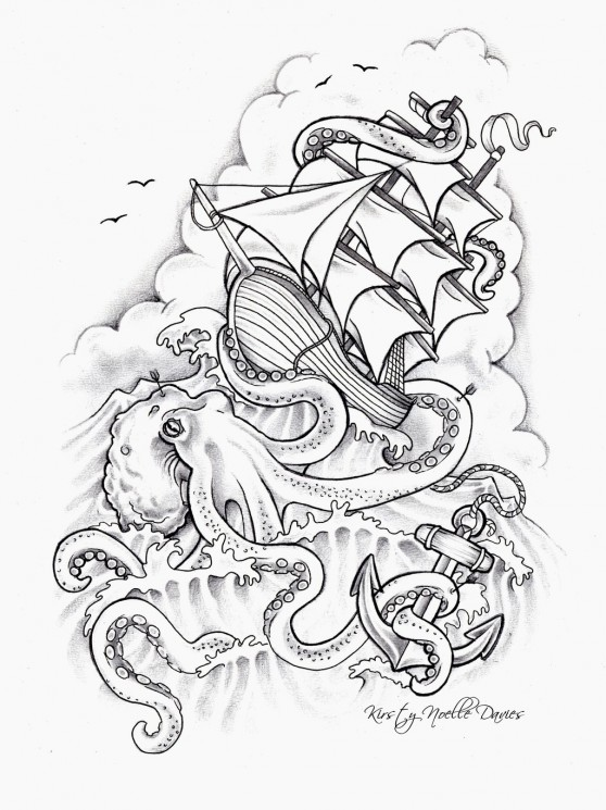 Half Sleeve Medusa Tattoo Design