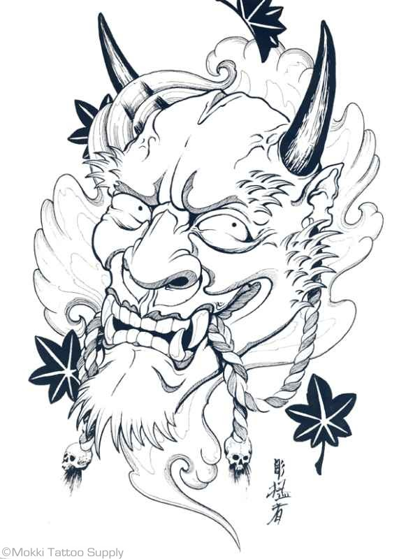 hannya mask tattoo stencil in 2017 real photo pictures images and sketches tattoo collections. Black Bedroom Furniture Sets. Home Design Ideas