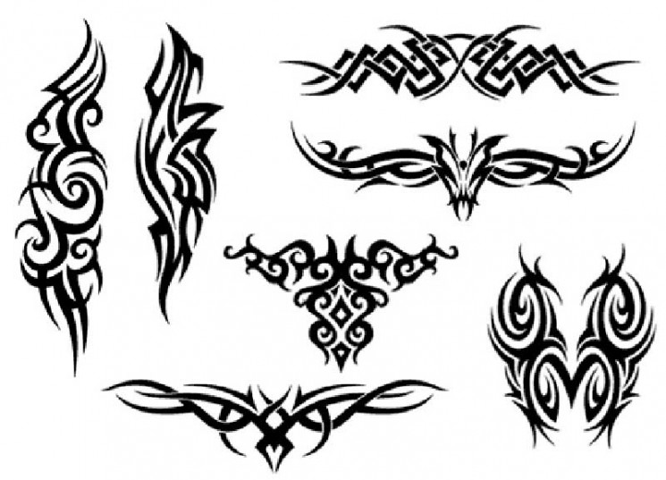 Hawaiian Tribal Tattoo Designs