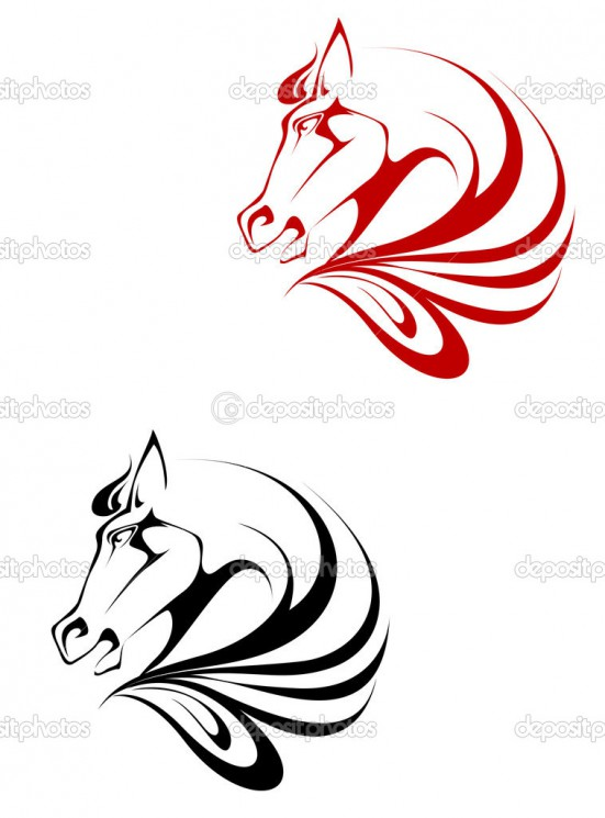 Horse Tattoo Example