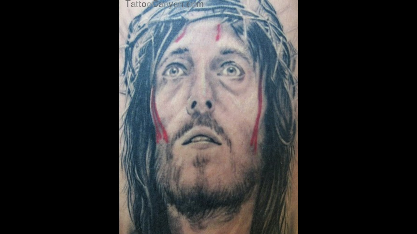 Inri Jesus Tattoo Design In 2017 Real Photo Pictures Images And