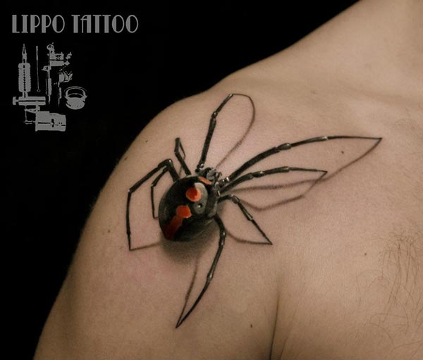 In Memory Of Prince Dog Tattoo On Upper Arm