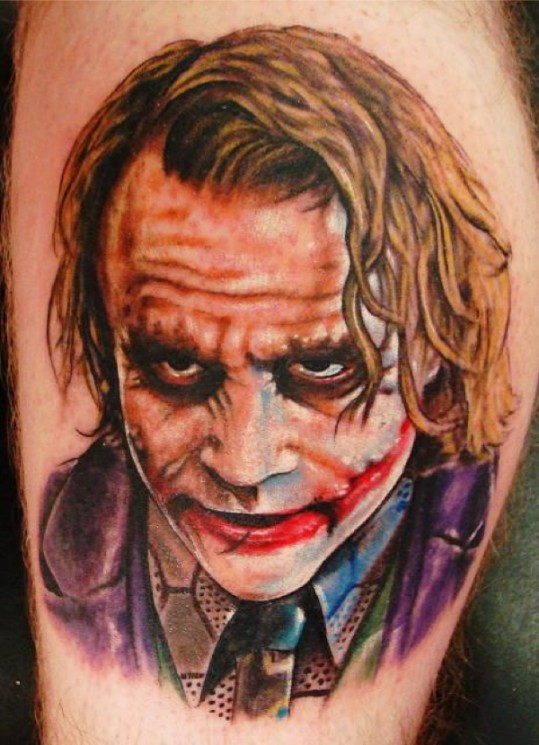 Incredible Joker Tattoo Design