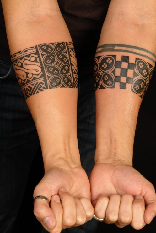 Indians Tattoo On Forearms