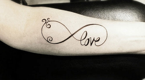 Infinity Tattoo For Love