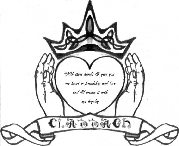Irish Claddagh Tattoo